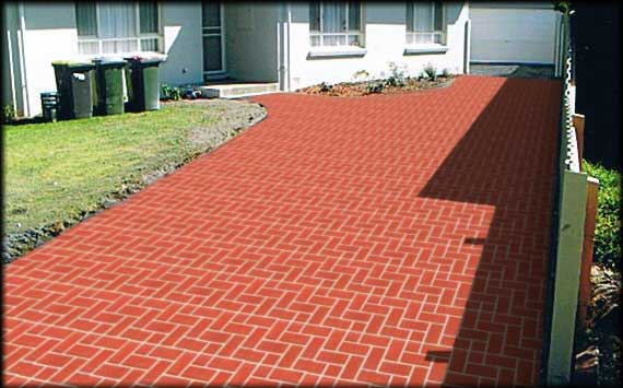 Prestige Pattern Paving S Spray On Concrete